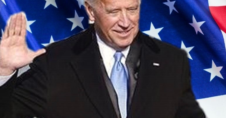 Biden swearing in